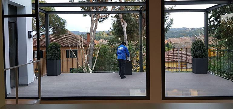 Limpieza de exteriores en Barcelona y Granollers